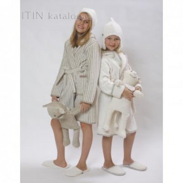 Chalatas HAPPY KIDS 134-146 cm