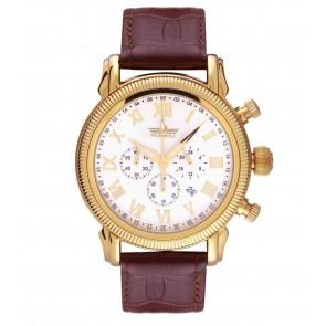 vyriškas laikrodis PoletStyle su data ir chronografu
