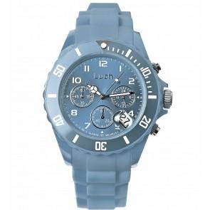 """Laikrodis iš hipoalerginio plastiko su data ir chronografu. """"Luch"""""""