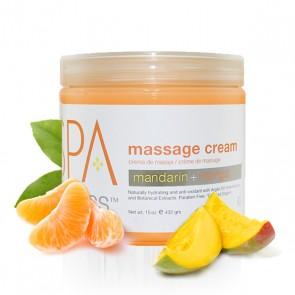 Masažo kremas su mandarinais ir mangu