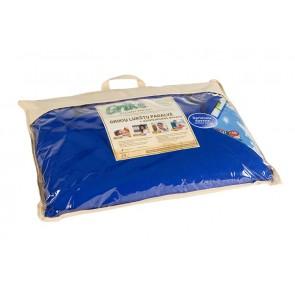 Grikių lukštų pagalvė - Didelė 60x50 cm.-Sky