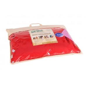 Grikių lukštų pagalvė - Didelė 60x50 cm.-Red