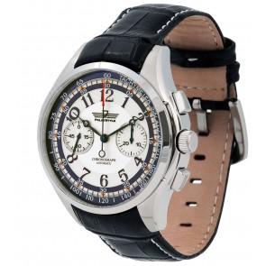 Vyriškas laikrodis su chronografu.