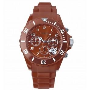 """Vyriškas laikrodis iš hipoalerginio plastiko su data ir chronografu. """"Luch"""""""