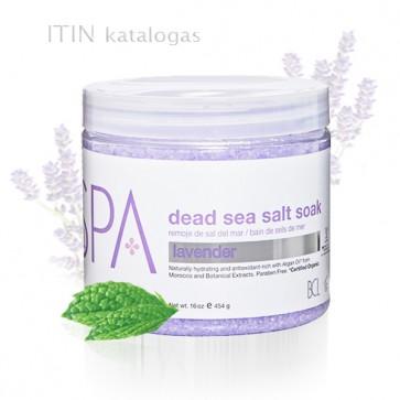BCL jūros druska su levanda ir mėta 450 gr.