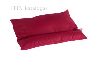 Grikių lukštų pagalvė - Vidutinė 55x42 cm