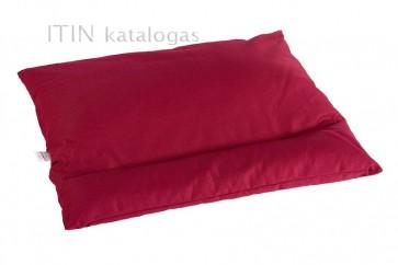 Grikių lukštų pagalvė - Didelė 60x50 cm.