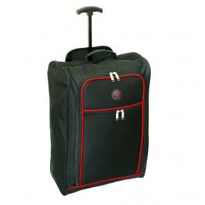 krepšys su ratukais. Spakva: juoda su raudona