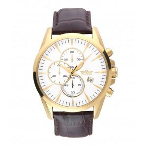 Kvarcinis vyriškas laikrodis PoletStyle su chronografu ir data