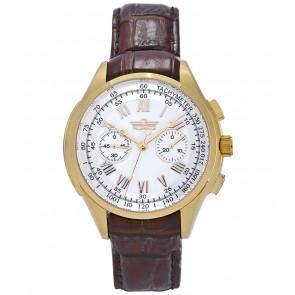 Vyriškas laikrodis Polet Style su chronografu.