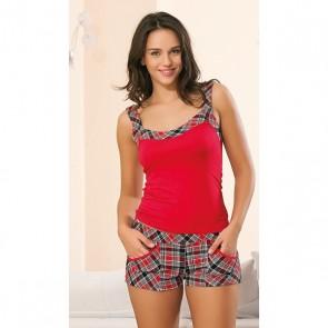 Moteriška pižama dviejų dalių.